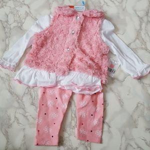 Kidgets Soft Vest Outfit Sz 0-3